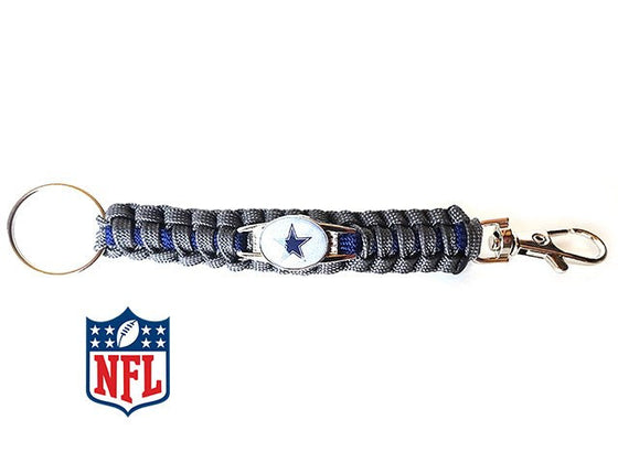 Dallas Cowboys NFL Paracord Key Fob - 25% Off
