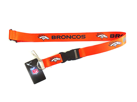 Officially Licensed Denver Broncos NFL Paracord Key Fob
