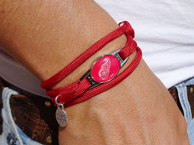 Detroit Red Wings Officially Licensed Designer Wrap Bracelet