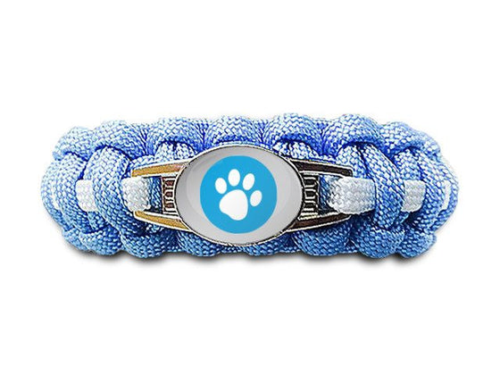 Pawesome Paracord Bracelet - Choose Your Own Colors