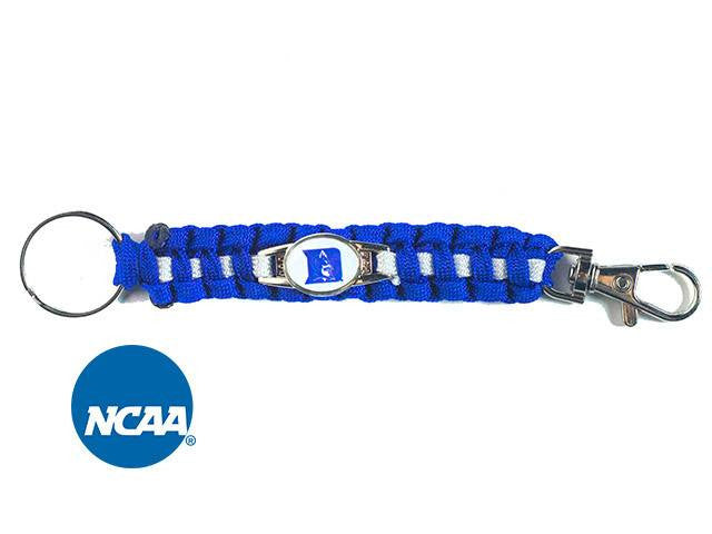Officially Licensed Duke Blue Devils Paracord Keychain