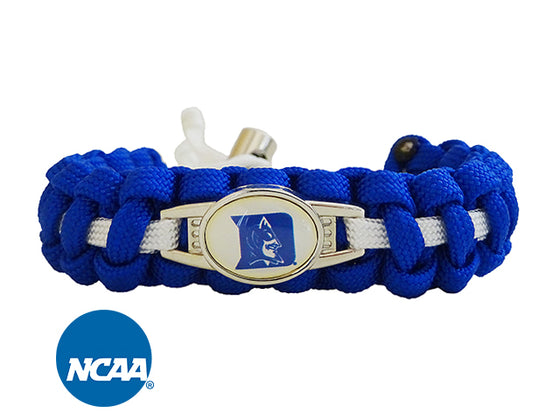 Officially Licensed Duke Blue Devils Paracord Bracelet