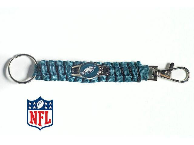 Officially Licensed Philadelphia Eagles NFL Paracord Keychain