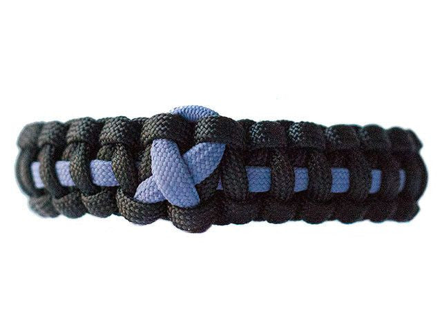Esophageal Cancer Awareness Paracord Bracelet