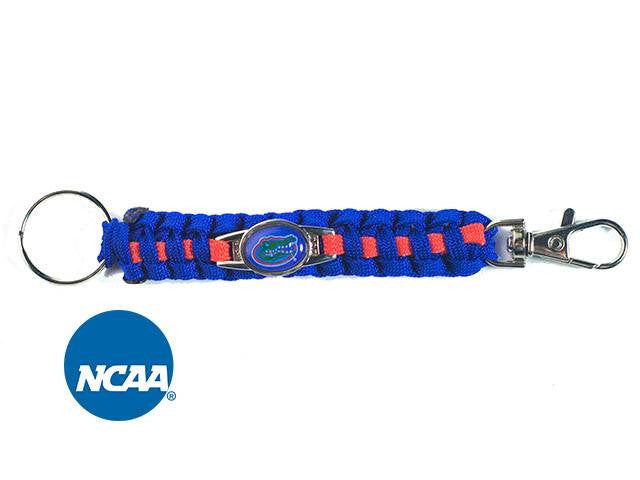 Officially Licensed Florida Gators Paracord Keychain