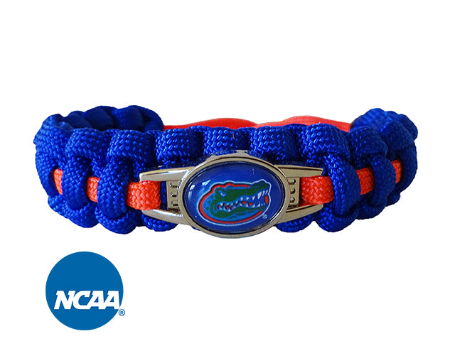 Officially Licensed Florida Gators Paracord Bracelet