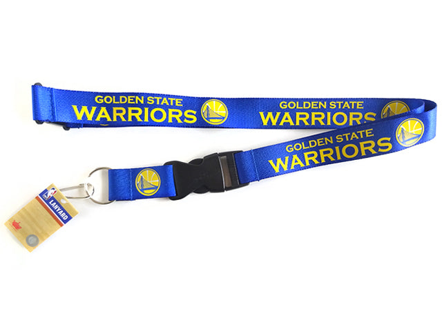 Officially Licensed NBA Golden State Warriors Lanyard