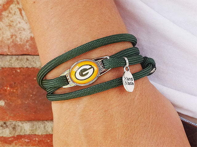 Green Bay Packers Officially Licensed Designer Wrap Bracelet