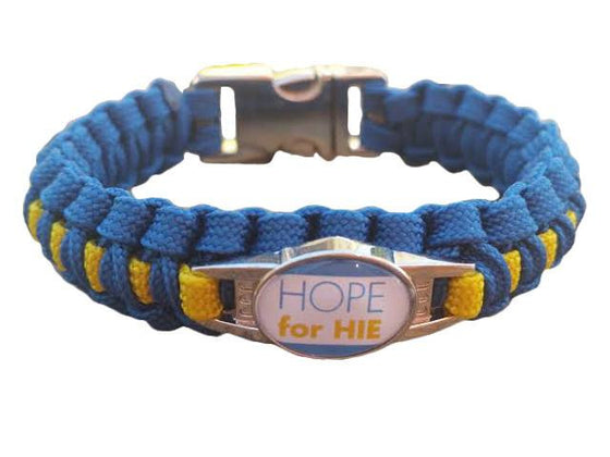 Hope for HIE Paracord Survival Bracelet