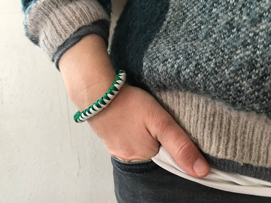 "Luck of the Irish ""Lady Luck""  Paracord Bracelet"
