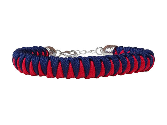 Imperial Red & Midnight Blue Fanatical Lady Luck Bracelet