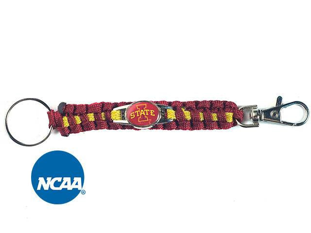 Officially Licensed Iowa State Cyclones Paracord Keychain