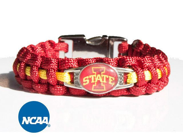Officially Licensed Iowa State Cyclones Paracord Bracelet