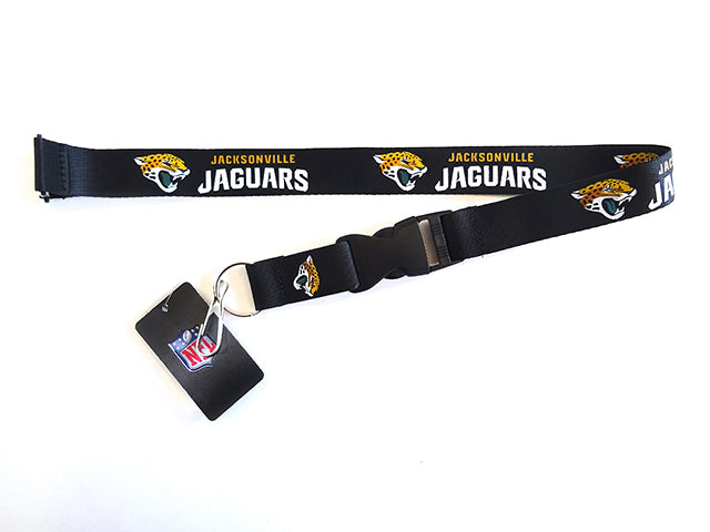 Officially Licensed NFL Jacksonville Jaguars Lanyard