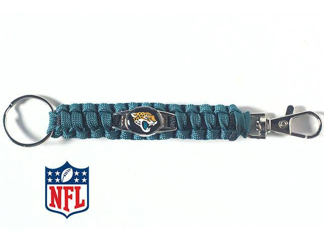 Officially Licensed Jacksonville Jaguars NFL Paracord Keychain