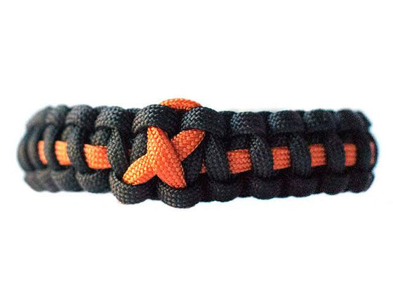 Kidney Cancer Awareness Paracord Bracelet