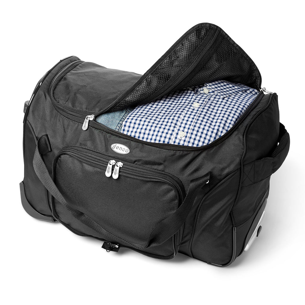 Air Force Falcons Wheeled Carry-on Duffel Bag