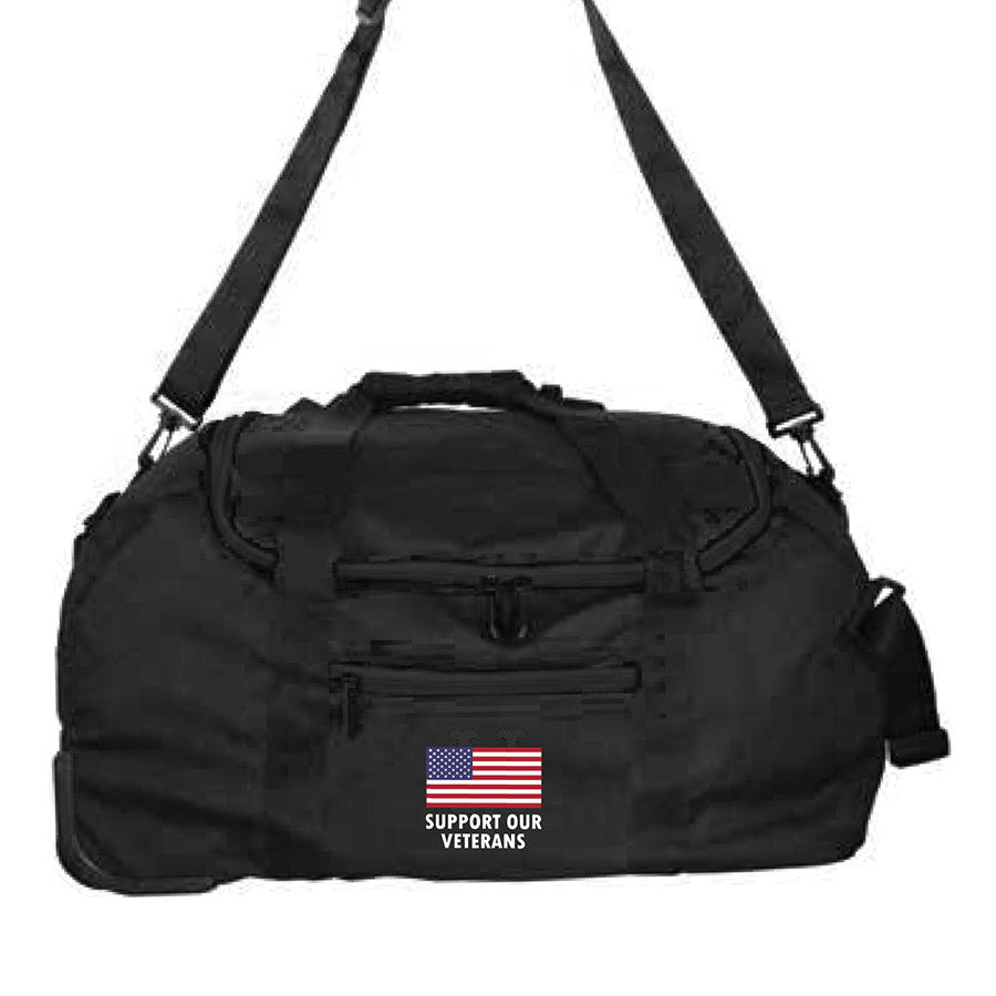 "L802 22"" Mini Collapsible Wheeled Duffel"