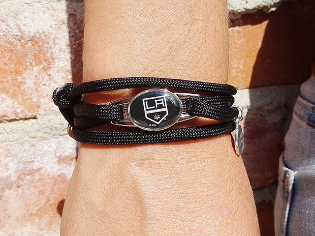 Los Angeles Kings Officially Licensed Designer Wrap Bracelet