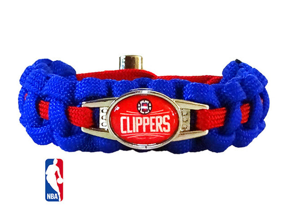 Officially Licensed NBA Los Angeles Clippers Paracord Bracelet