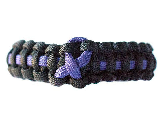 Leiomyosarcoma Awareness Paracord Bracelet