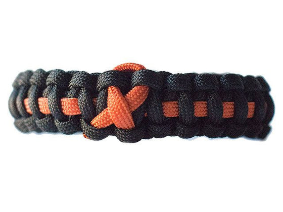 Leukemia Awareness Paracord Bracelet