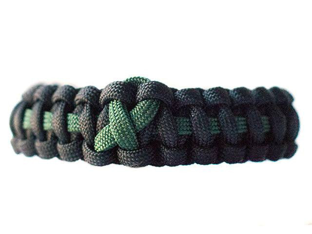 Liver Cancer Awareness Paracord Bracelet