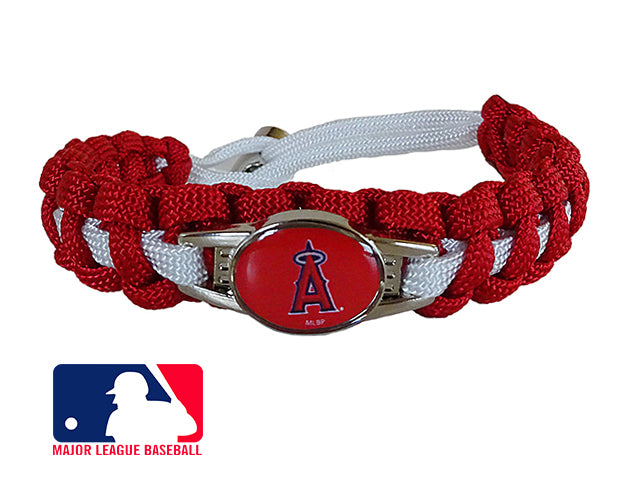 Officially Licensed MLB Los Angeles Angels Paracord Bracelet