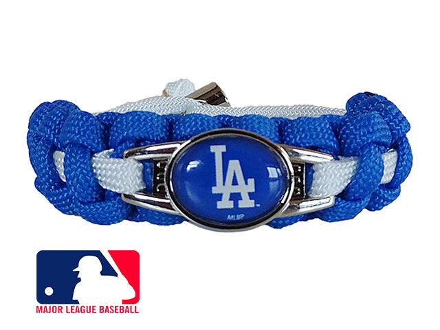 Officially Licensed MLB Los Angeles Dodgers Paracord Bracelet