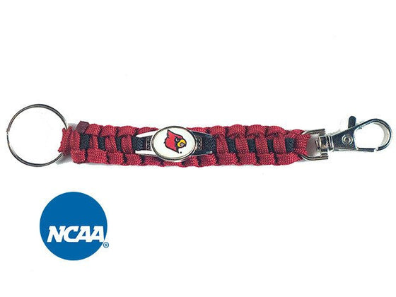 Officially Licensed Louisville Cardinals Paracord Keychain
