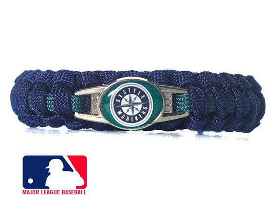 Officially Licensed MLB Seattle Mariners Paracord Bracelet