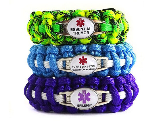 Choose Your Own Color Medical ID Bracelet