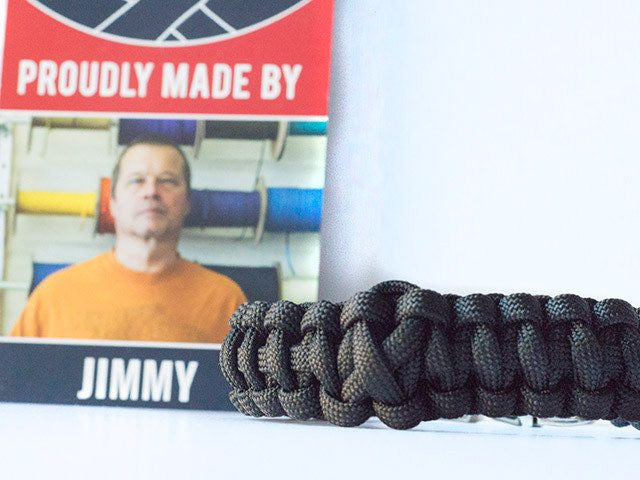 Melanoma Awareness Paracord Bracelet