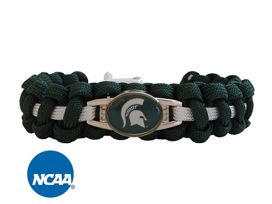 Officially Licensed Michigan State Spartans Paracord Bracelet