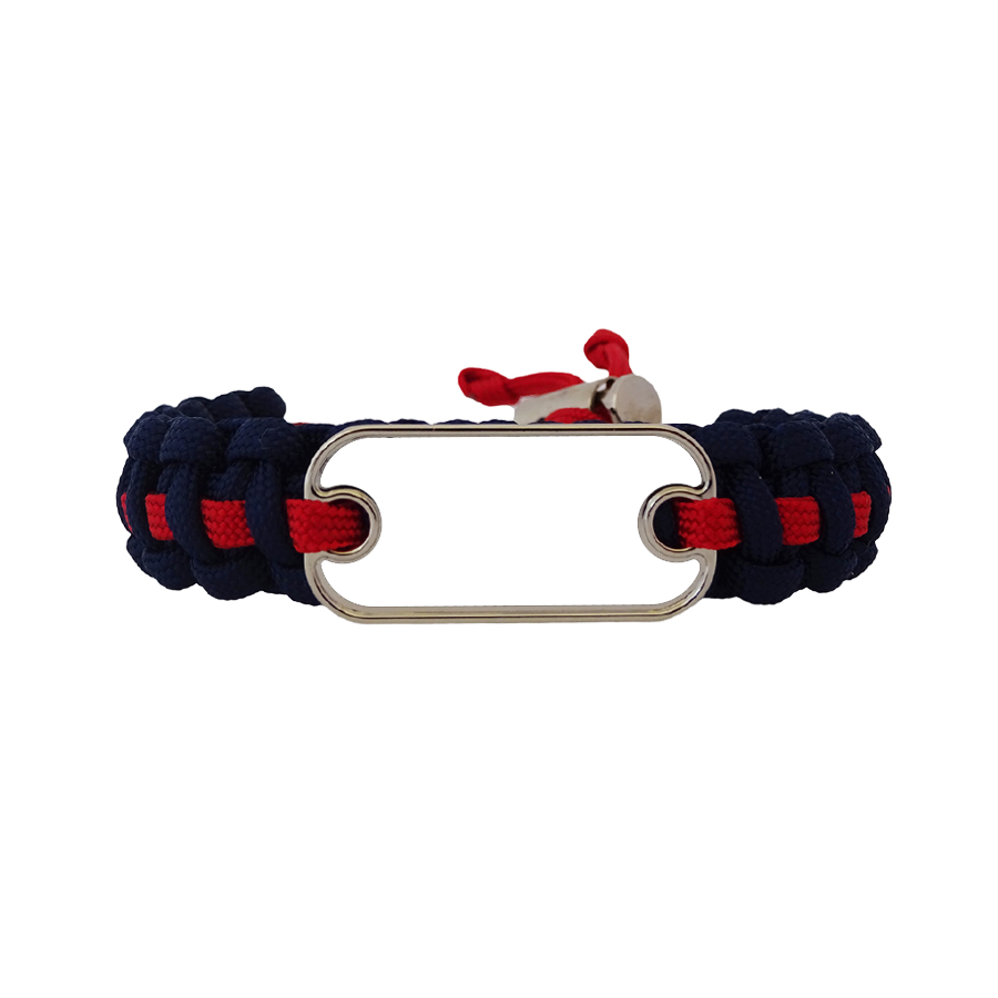 Personalize Your Dog Tag Paracord Bracelet