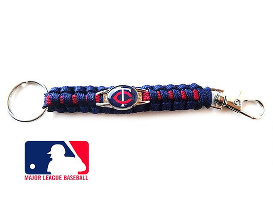 Officially Licensed MLB Minnesota Twins Paracord Keychain