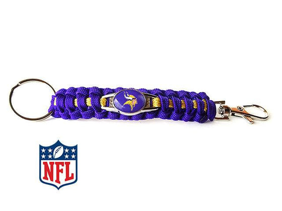 Minnesota Vikings NFL Paracord Key Fob - 25% Off