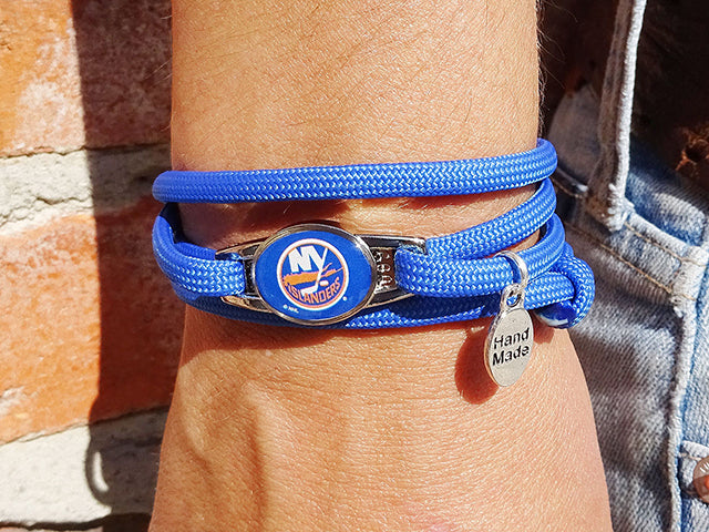 New York Islanders Officially Licensed Designer Wrap Bracelet