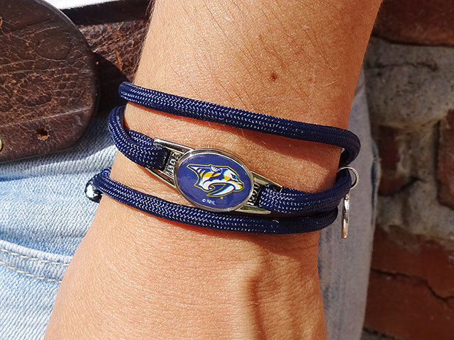 Nashville Predators Officially Licensed Designer Wrap Bracelet