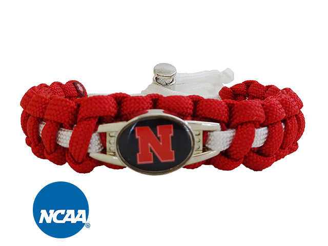Officially Licensed Nebraska Cornhuskers Paracord Bracelet