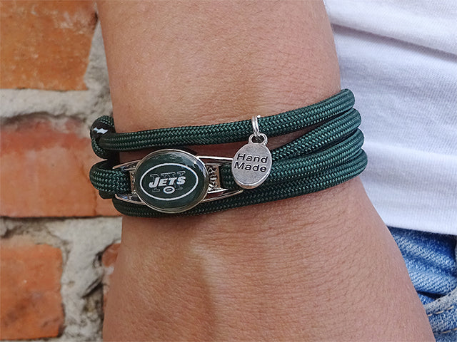 New York Jets Officially Licensed Designer Wrap Bracelet