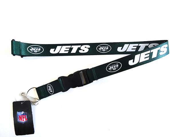 Officially Licensed NFL New York Jets Lanyard