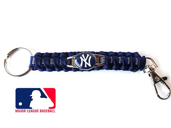 Officially Licensed MLB New York Yankees Paracord Keychain