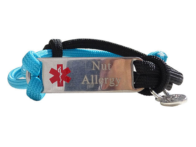 "Nut Allergy ""Alert Your Medicool"" Alert Bracelet"
