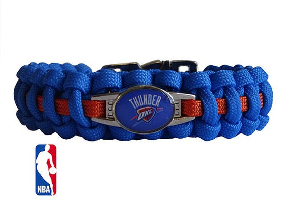 Officially Licensed NBA Oklahoma City Thunder Paracord Bracelet