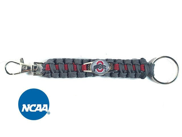 Officially Licensed Ohio State Buckeyes Paracord Keychain