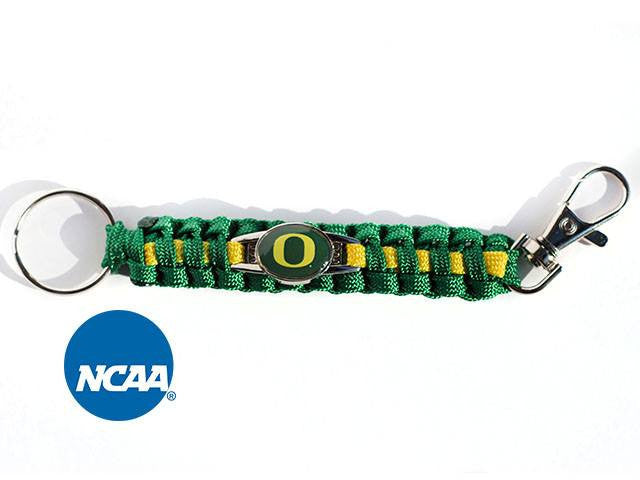 Officially Licensed Oregon Ducks Paracord Keychain