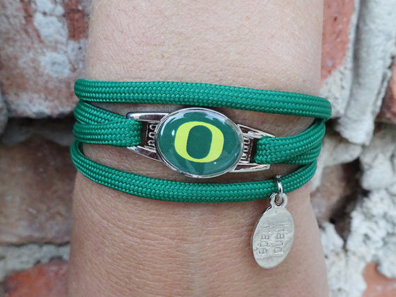 Oregon Ducks Officially Licensed Designer Wrap Bracelet