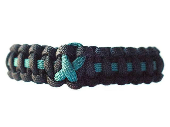 PTSD Awareness Paracord Bracelet