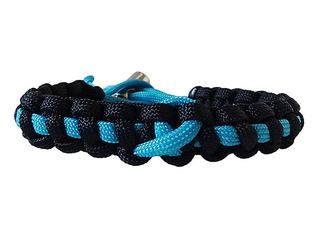 Prostate Cancer Awareness Paracord Bracelet Handmade By